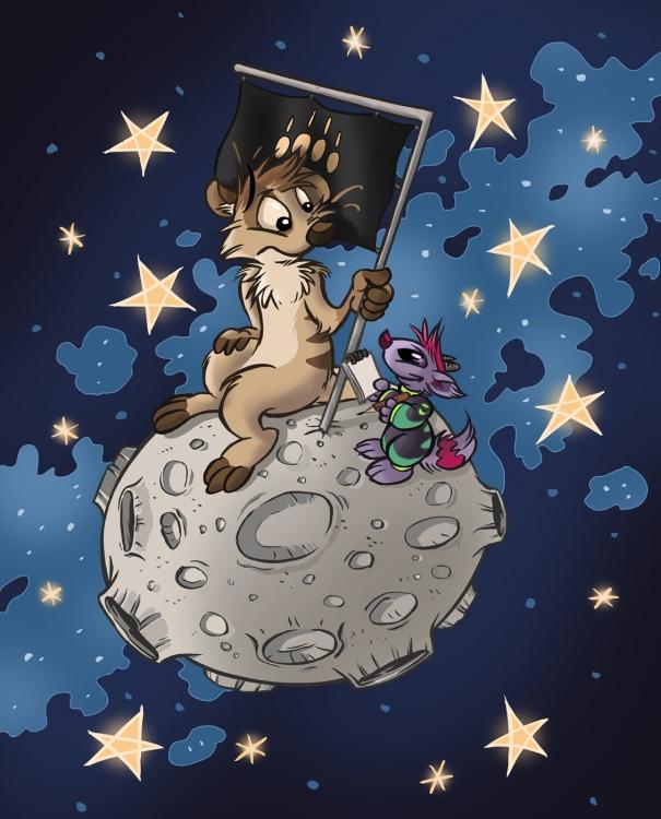 L'univers de Titash : Rencontre avec les Luniens...