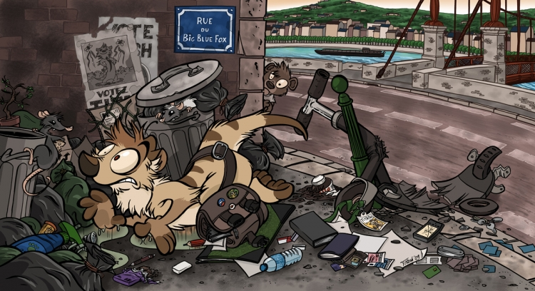Titash : La poubelle de mes aventures
