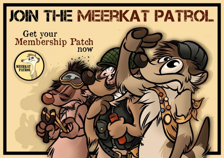 Meerkat Patrol (by Titash)