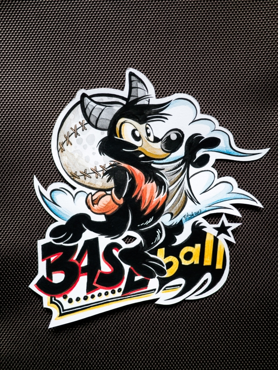 Badge Baseball (by Titash)