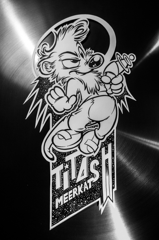 WiP : Badge Titash, meerkat from Earth
