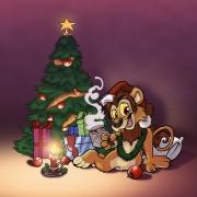 Leeuw Christmas Cards