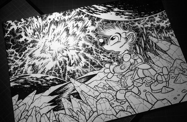 Titash : Space Odyssey : Supernova