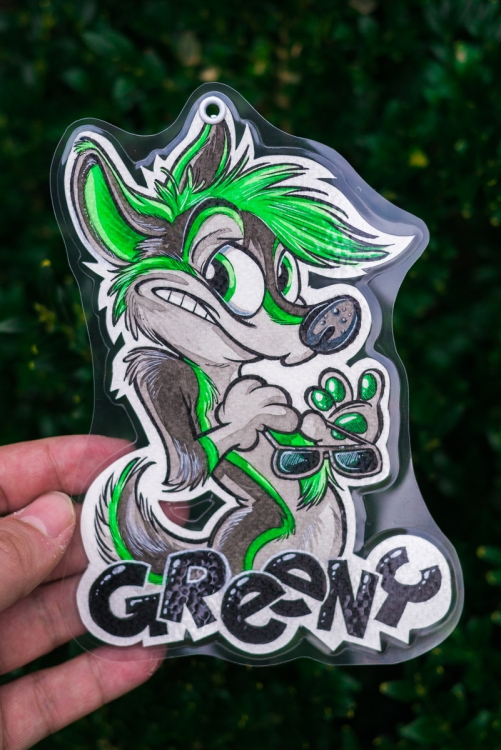 Badge Greeny (by Titash)