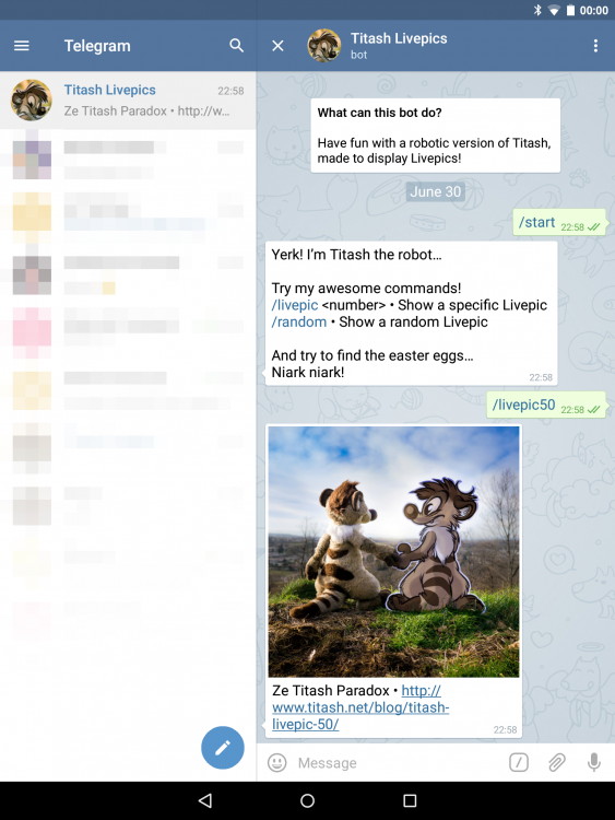 @TitashLPbot (Telegram)