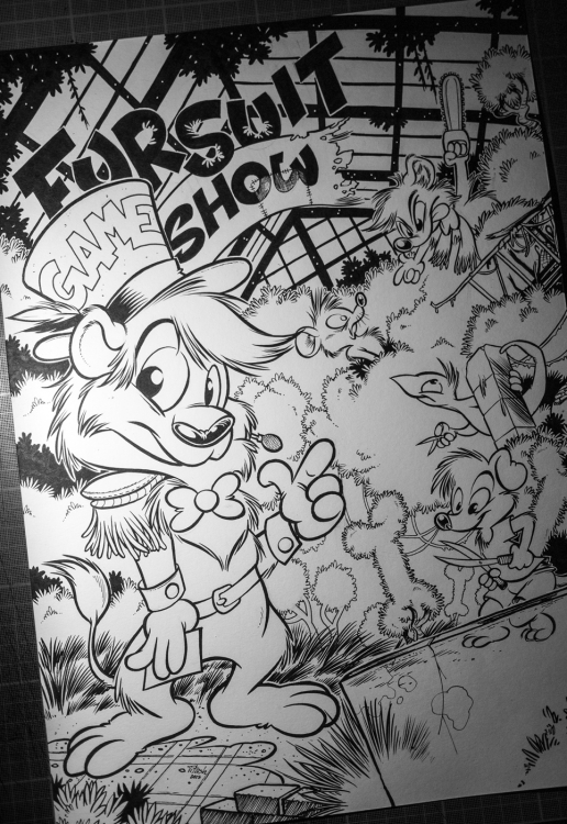 WiP : Eurofurence 21 Fursuit GameShow 2015 (by Titash)