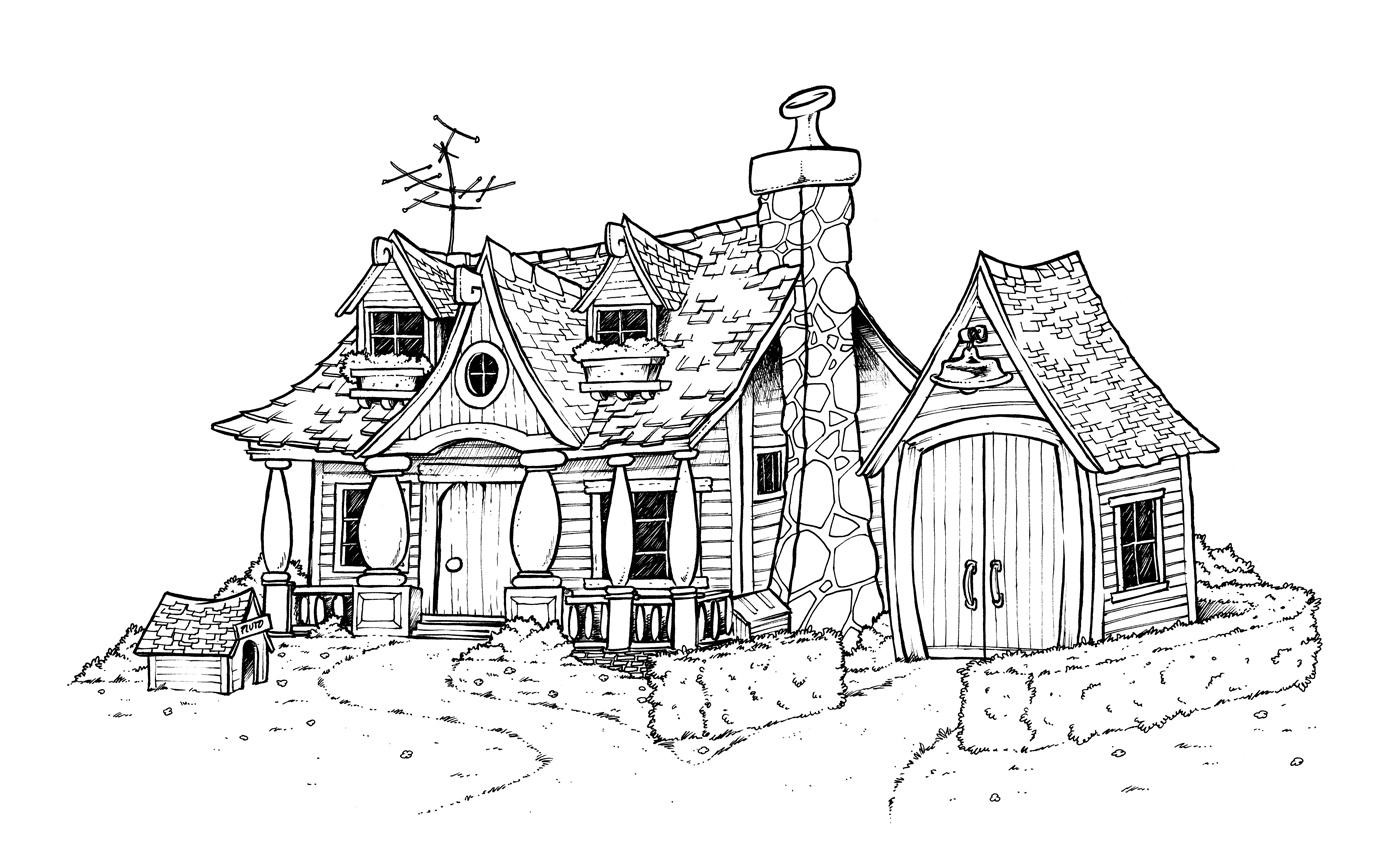 Chronique disney v5 la maison de mickey titash artblog - Maison de mickey halloween ...