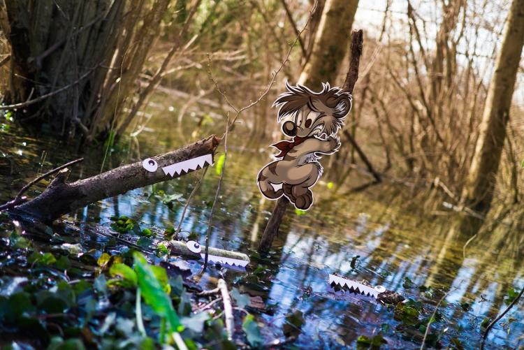 Titash Livepics XL #85 : Beware of river jaws 2 : What the Croc