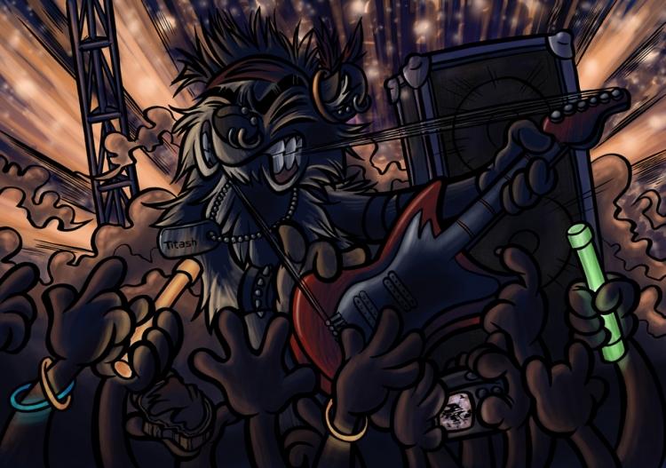 Titash : Rock'n Kat