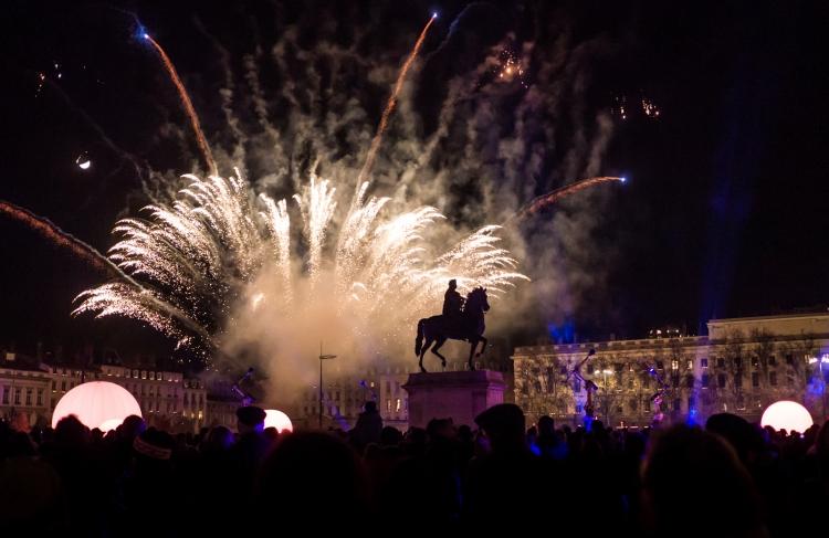 Titash : Lyon Fête des Lumières 2013