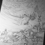 Mausie : The fall of Atlantis (by Titash)