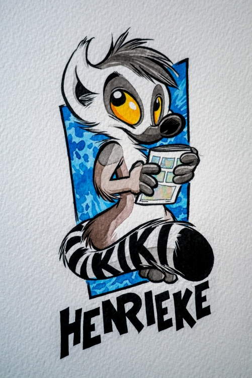 Henrieke Badge version 2016 (by Titash) : WiP