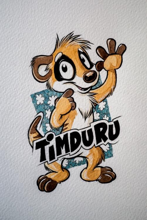 Badge Timduru version 2016 (by Titash) : WiP