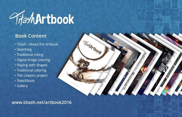 Titash Artbook : Content
