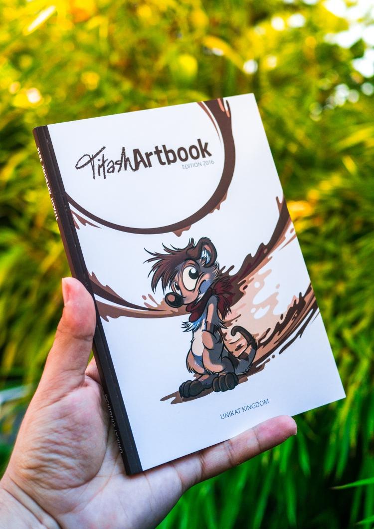 Titash Artbook 2016