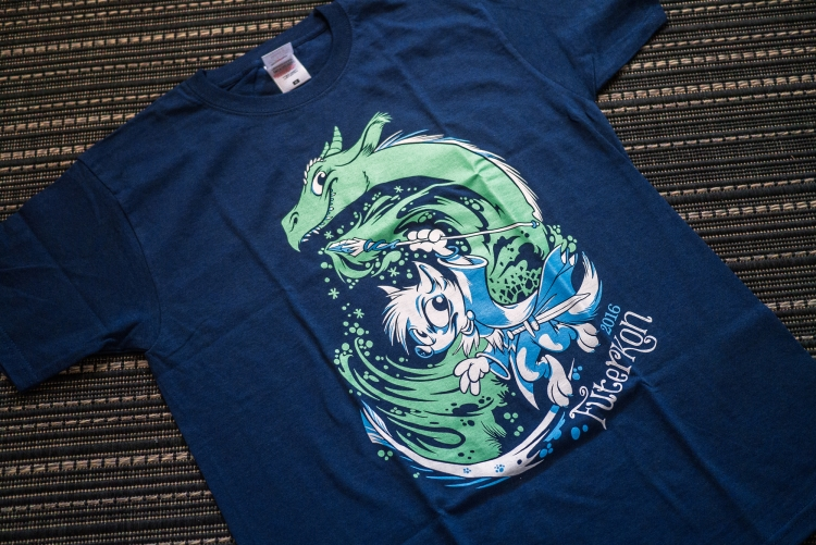 T-Shirt Futerkon 2016 : Dragon Invocation (Titash)