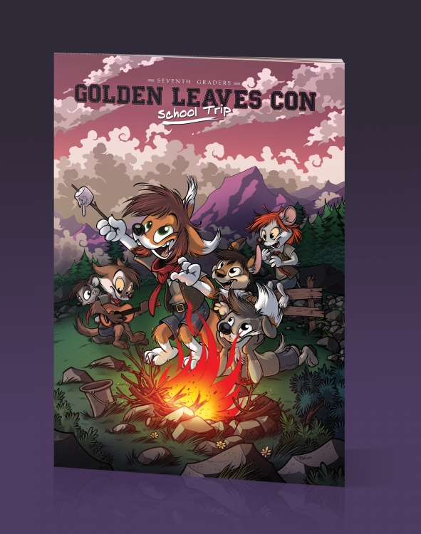 Golden Leaves Con 7 : Front Cover