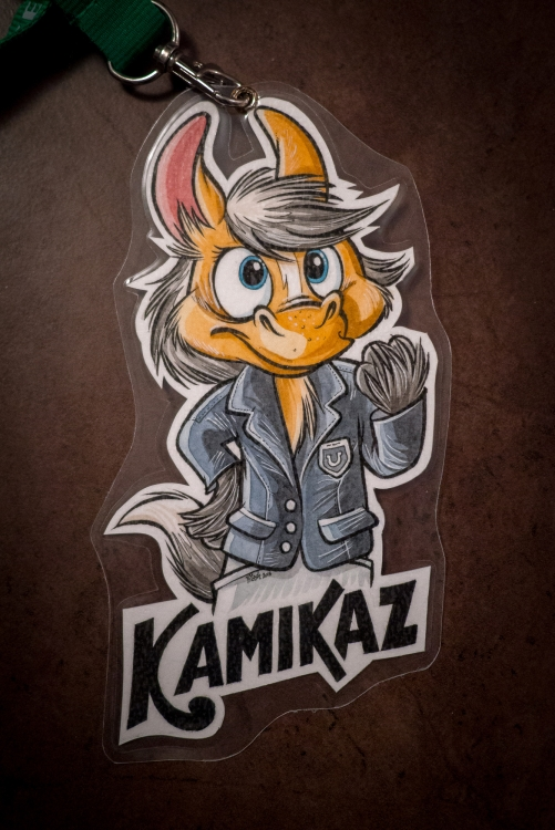 Kamikaz Badge (by Titash)