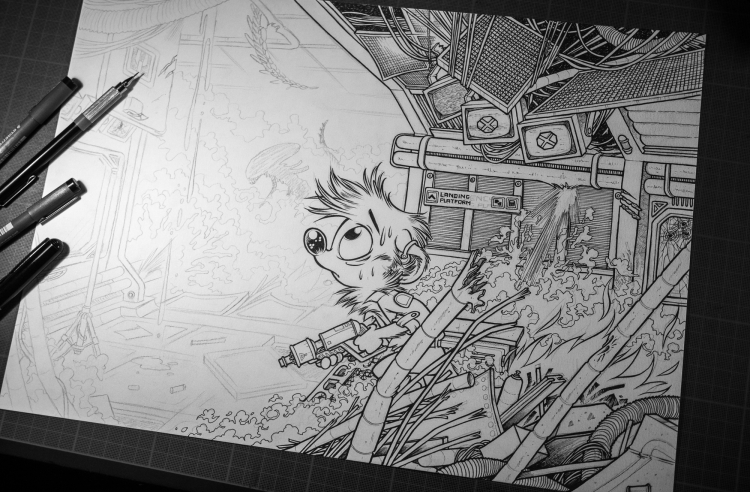 WiP : Titash vs Aliens