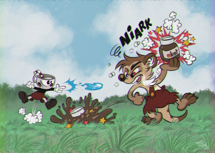 Cuphead (by Titash) (old TV style)
